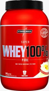 SUPER WHEY 100% PURE  907G  INTEGRALMEDICA