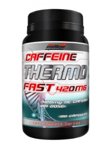 THERMO FAST CAFFEINE 420MG (90CAPS) NEW MILLEN