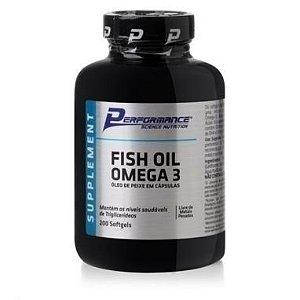 FISH OIL OMEGA 3 (100 CÁPSULAS) PERFOMANCE NUTRITION