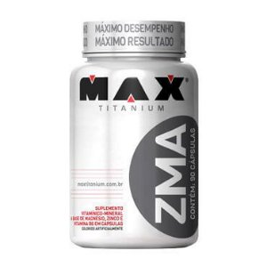 ZMA - (90 CÁPSULAS) MAX TITANIUM