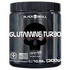 Glutamina / Glutamine Turbo 3000g - Black Skull