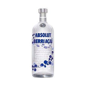 Vodka Absolut Berri Açai 1L
