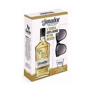 Kit Tequila El Jimador Reposado 750ml  c/ Copo + Óculos