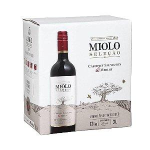 Vinho Miolo Seleção Tinto Bag in Box 3L
