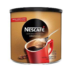 NESCAFE CAFE SOLUVEL EM PO CREMOSO 150G