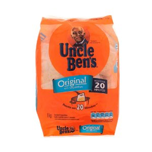 Arroz Uncle Bens em Saquinhos 1Kg