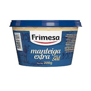 Manteiga Frimesa Extra Sem Sal 200g
