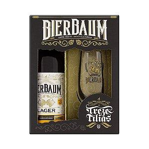 Kit Cerveja Bierbaum Lager 600ml + Copo 300ml