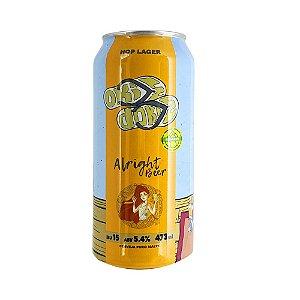 Cerveja Alright Hop Langer 473ml