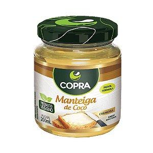 Manteiga Copra de Coco Natural Vegana 200ml
