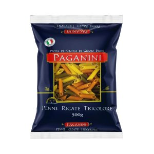Massa Penne Rigate Tricolore Paganini 500g
