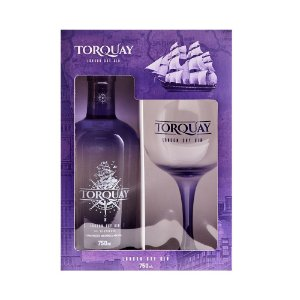 Kit Taça + Gin London Dry Torquay 740ml
