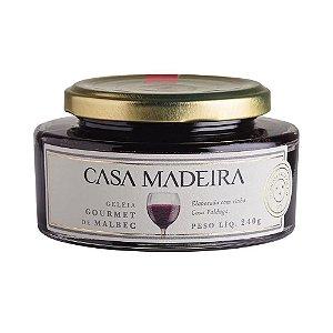 Geleia Casa Madeira Gourmet Malbec 240g