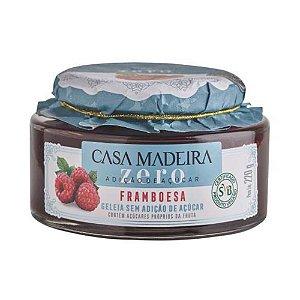 Geleia Casa Madeira Zero Açúcar Framboesa 220g