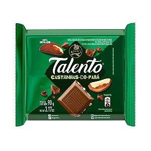 Chocolate Garoto Talento Castanha do Pará 90g