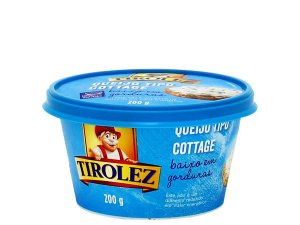 QUEIJO TIPO COTTAGE TIROLEZ 200G