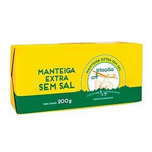 MANTEIGA AVIACAO EXTRA SEM SAL 200G