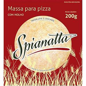 MASSA PARA PIZZA COM MOLHO SPIANATTA 200G
