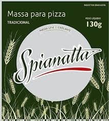 MASSA PARA PIZZA TRADICIONAL SPIANATTA 200G