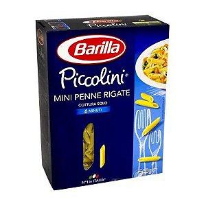MASSA BARILLA PICCOLINI PENNE  RIGATE 500G