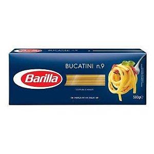MASSA BARILLA BUCATINI N9 500G
