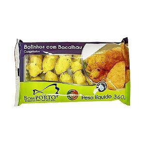 BOLINHOS DE BACALHAU  BOM PORTO 360G