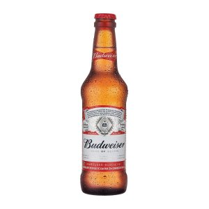CERVEJA BUDWEISER NECK KING OF BEERS 330ML
