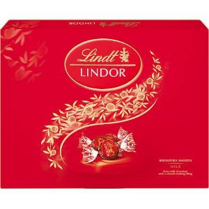 CHOCOLATE LINDT MILK LINDOR BALLS 300G