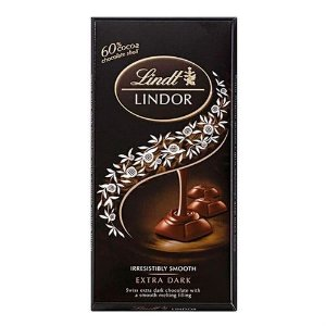 CHOCOLATE LINDT DARK LINDOR SINGLE 60% 100G