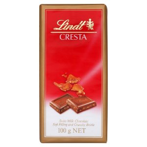 CHOCOLATE LINDT CRESTA 100G