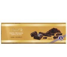 CHOCOLATE AMARGO LINDT SWISS GOLD BAR SURFIN 300G