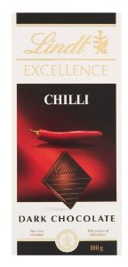 CHOCOLATE LINDT EXCELLENCE INTENSE CHILLI 100G