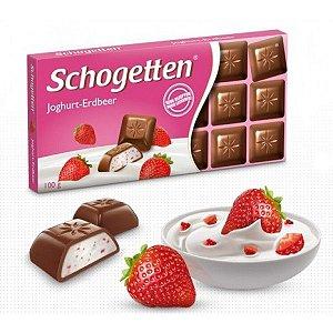 CHOCOLATE IOGURTE MORANGO SCHOGETTEN 100G