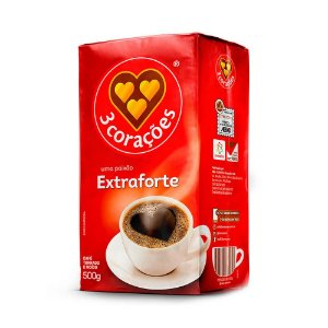 CAFE 3 CORAÇOES EXTRA FORTE 500G