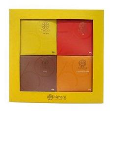 CHOCOLATE CAIXA COM 4 SABORES MENDOA 100G