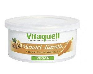 PATE VEGANO VITAQUELL MANDEL-KAROTTE (CENOURA) 125G