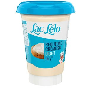 REQUEIJAO CREMOSO LIGHT LAC LELO 180G