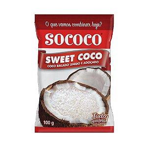 COCO RALADO SWEET FLOCO SOCOCO 100G
