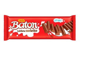 CHOCOLATE  BATON TABLETE AO LEITE 96G