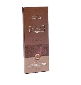 CHOCOLATE AO LEITE COM AVELAS NUGALI 100G