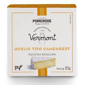 QUEIJO TIPO CAMEMBERT VERMONT POMERODE 125G