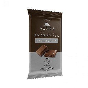 Chocolate Alpes Amargo 72% 25g
