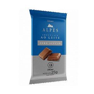 Chocolate Alpes ao Leite 25g