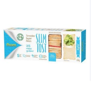 TORRADAS LIGHT SLIM TOST FHOM 110G