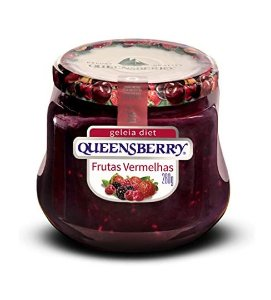 GELEIA DE FRUTAS VERMELHAS DIET QUEENSBERRY 280G