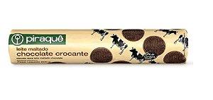 BISCOITO PIRAQUE LEITE MALTADO CHOCOLATE 200G