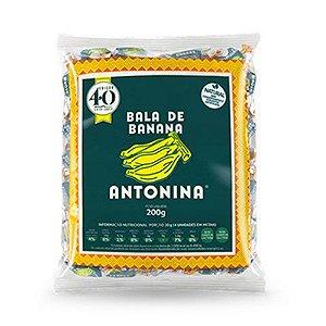 Balas de Banana Antonina 200g