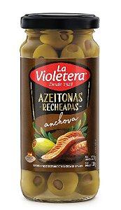 AZEITONAS COM PASTA DE ANCHOVA LA VIOLETERA 130G