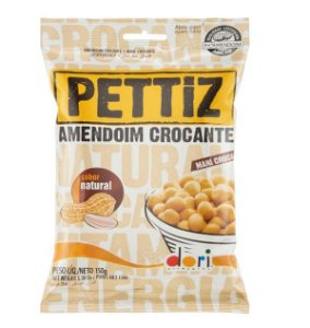 AMENDOIM CROCANTE NATURAL PETTIZ 150G