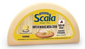 QUEIJO MINAS MEIA CURA SCALA MEIA PEÇA 500G